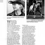 Equine Journal March 2005 Article